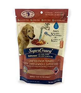 Clear Conscience Pet SuperGravy BARKinara Pet Food Topper, 4.5 oz