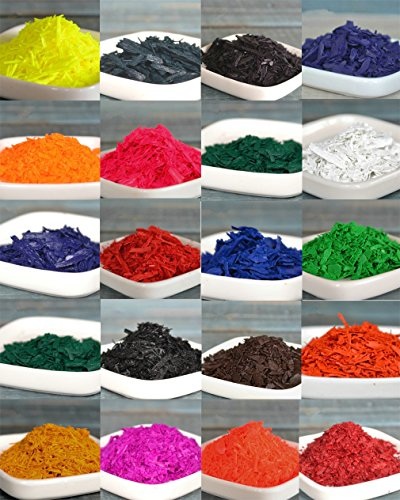 20 Dye Colors, Dye Chips, Candle Dye Colors, Dye Colors for Candle Making, Candle wax Dye, Best for Soy, Paraffin, Beeswax, and Vegetable waxes ¨C Super Easy to Use 0.07oz/bag-1.41 ounce