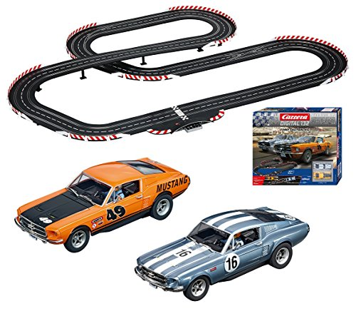Carrera 30194 Digital 132 Ford Fastbacks Slot Car Racing System - Includes over 30 feet of Race Track, 2 Vehicles, and 2 Controllers from Carrera
