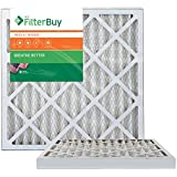 AFB Bronze MERV 6 22x24x2 Pleated AC Furnace Air Filter. Pack of 2 Filters. 100% produced in the USA.