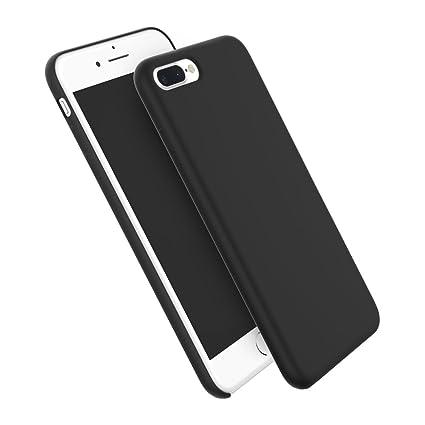 Amazon.com: iPhone 7 Carcasa de silicona, hiorange líquido ...