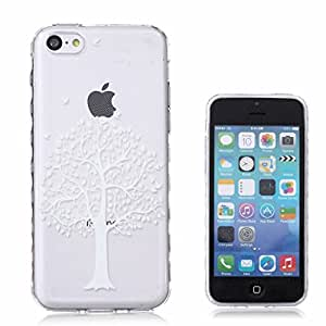 Slim tapa Case Clear suave Flexible Style TPU Bumper silicona Scratch-Proof protector piel Back funda carcasa Cover para Apple iphone 5C