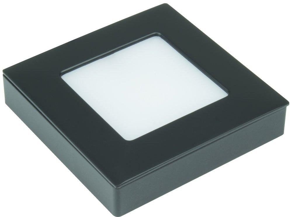 American Lighting OMNI-TW-S1-BK Tunable Square Omni LED Puck Light Kit, Black