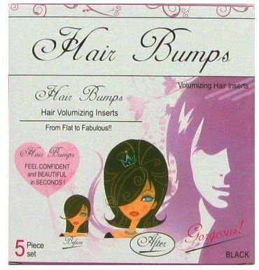 5 Pack Hair Bumps Black 288 pcs sku# 1161376MA by DDI