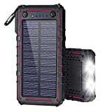 Ayyie Solar Charger 13500mAh Solar Power Bank