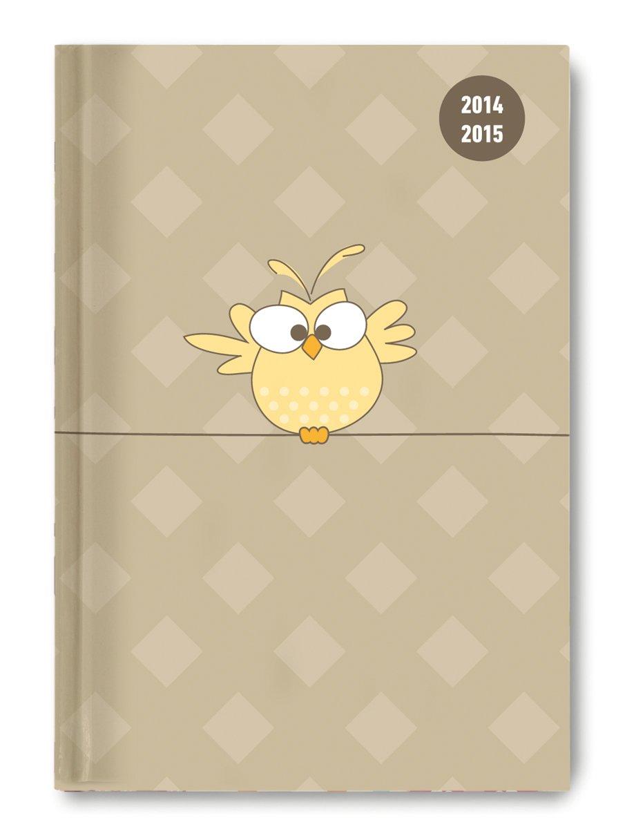 Collegetimer Bird 2014/2015 - Schülerkalender A5 - Day By Day - 352 Seiten