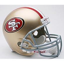 Riddell NFL San Francisco 49Ers Deluxe Replica Football Helmet