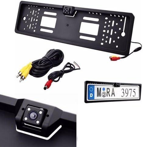 generica Portatarga con Telecamera Retromarcia e Monitor 4.3 Auto Retrocamera 170 Nottura