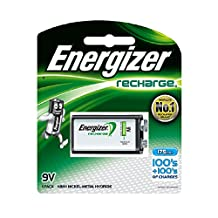 Energizer NH22NBP Rechargeable 9V Battery