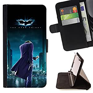 For Sony Xperia Z1 Compact D5503 BAT SUPERHERO Leather Foilo Wallet Cover Case with Magnetic Closure