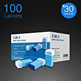 FORA Safety Lancet (Lancing Device is not Required.) 100 lancets/1.8mm/30G/Sterile Expires 4/30/2021 Buy 2 GET 10% Off, Buy 3 GET 15% Off