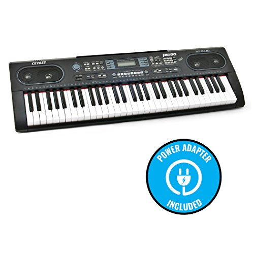 aa9bb918048 Plixio 61 Key Electronic Keyboard Piano with LED Display