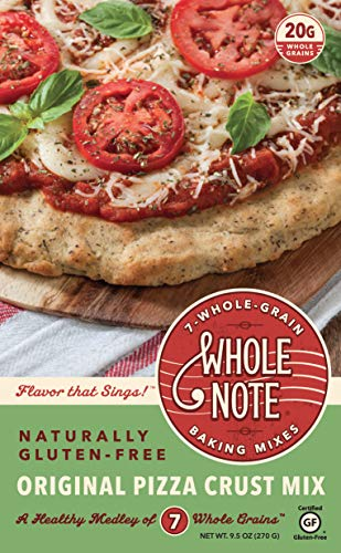 - Whole Note Pizza Crust Mix, 7-Whole-Grain and Naturally Gluten-Free (Pack of 3)