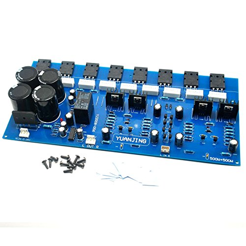 2sc5200 2sa1943 High Power Amplifier Board 400w + 400w by Electronics BoardJINGLUYAO