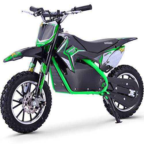 Renegade 50R 500W 36V Electric Mini Dirt Bike - Green