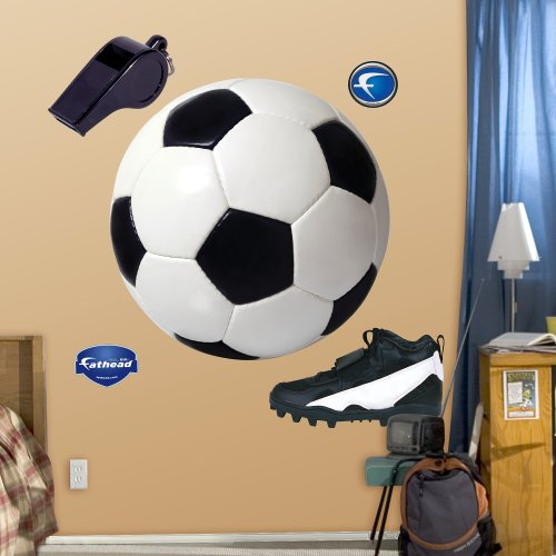 FATHEAD Assorted Soccer Graphics Graphic Wall Décor by FATHEAD