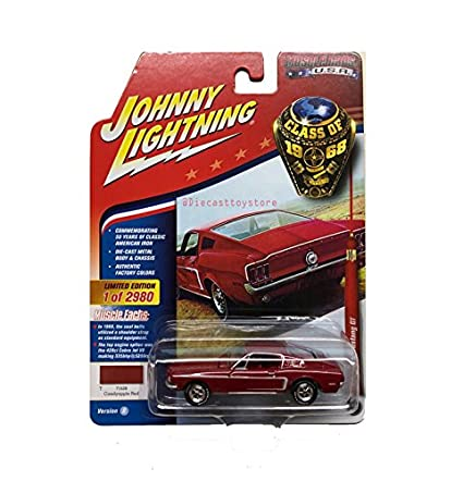 Amazon Com Johnny Lightning Brand New Diecast 1 64 Muscle Cars Usa