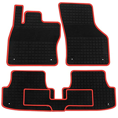floor liners rubber protection vehicle carpet black