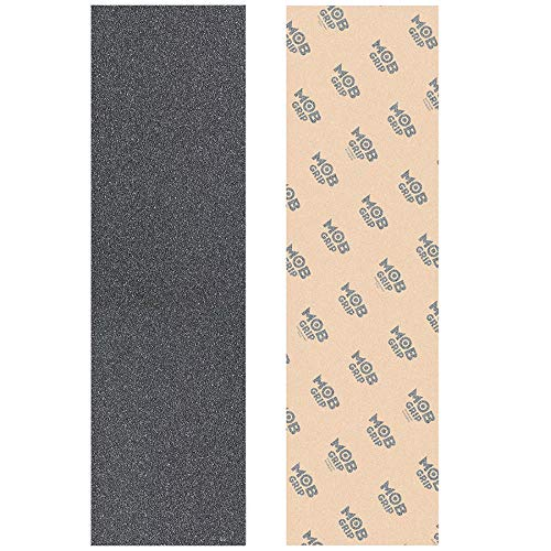 - Mob Grip Tape 2 Sheets Skateboard Griptape Clear & Black to Customize Your Deck