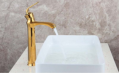 Single-Handle Kitchen Mixer Sink Tap Kitchen Faucet Above counter basin basin washbasin mixer single hole single handle hot and cold water high faucet with US Standard Fittings