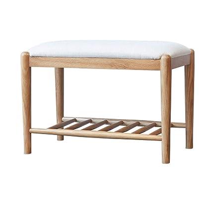 Phenomenal Amazon Com Ltong Modern Minimalist Solid Wood Storage Stool Onthecornerstone Fun Painted Chair Ideas Images Onthecornerstoneorg