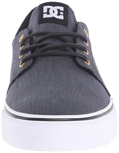 Black da Se Trase TX Sneakers M Uomo LGR White Shoe DC Gunmetal 0z1aFqZEcq