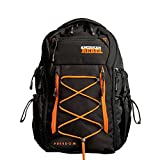 Tactical Concealed Carry Durable Backpack - Medium Black/Grey Freedom Bag for Every Day Use - American Rebel Inc.