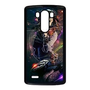 Caja del teléfono celular LG G3 funda Negro Lindsey Stirling I1I7KI