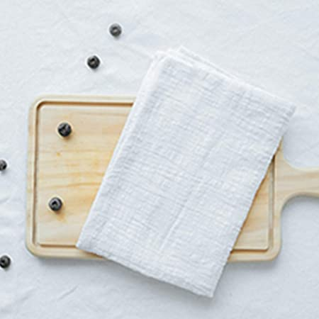 Servilletas de mesa reutilizables de algodón y lino para ...