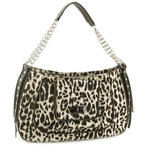Audigier Bag (Christian Audigier Meredith Shoulder Bag -Leopard)