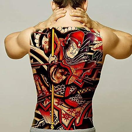 tzxdbh Super Gran Etiqueta engomada del Tatuaje Temporal Zorro ...