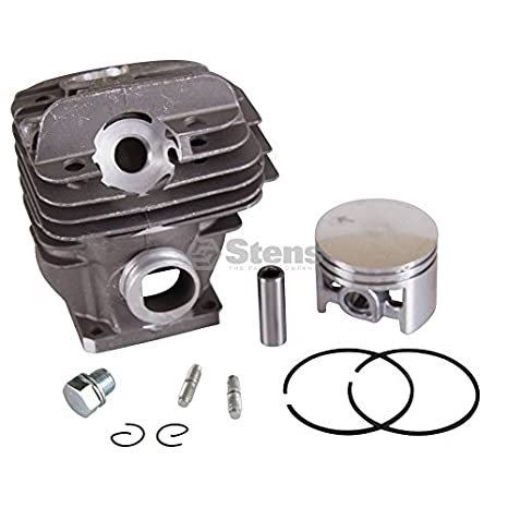 Bore: 44 Mm Not Compatible with Greater Than 10/% Ethanol Fuel Stens 632-845 Cylinder Assembly Pin and Clips Ring Silver Includes: Piston