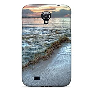 Durable Hard Phone Covers For Samsung Galaxy S4 (WnX2637eNvx) Customized Colorful Beautiful Seascape Hdr Image