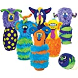 Melissa & Doug Deluxe Monster Bowling Game