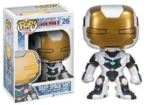 Funko POP Marvel Iron Man Movie 3: Deep Space Suit Vinyl Bobble Head Action Figure