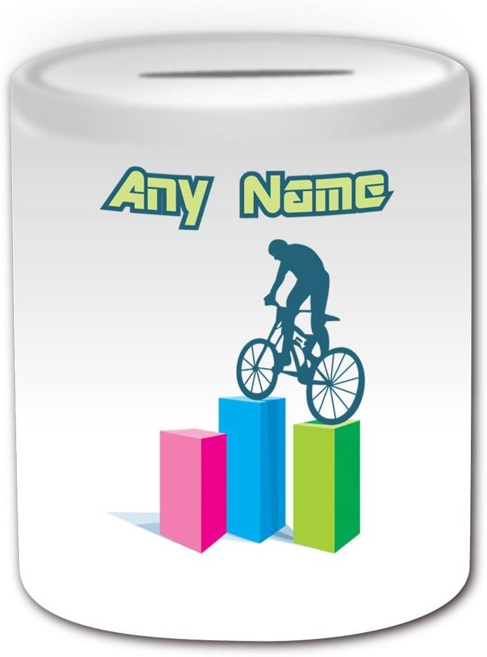 De regalo con mensaje personalizado - Hucha para bicicleta de ...