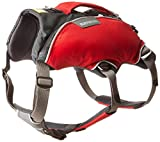webmaster dog harness - Ruffwear - Web Master Pro Professional Harness for Dogs, Red Currant, Small