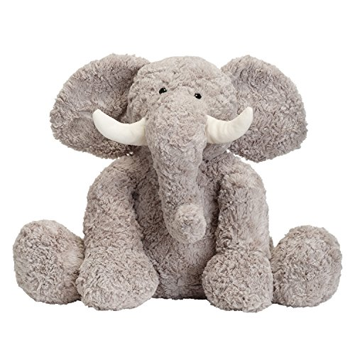 JOON Bobo The Elephant Stuffed Animal, Grey, 15 Inches