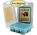 2 Pack - Fierce Scented Wax Melts - Compare to Abercrombie & Fitch - Hand Poured Blended Soy Wax Cubes Made in the USA by Just Makes Scents