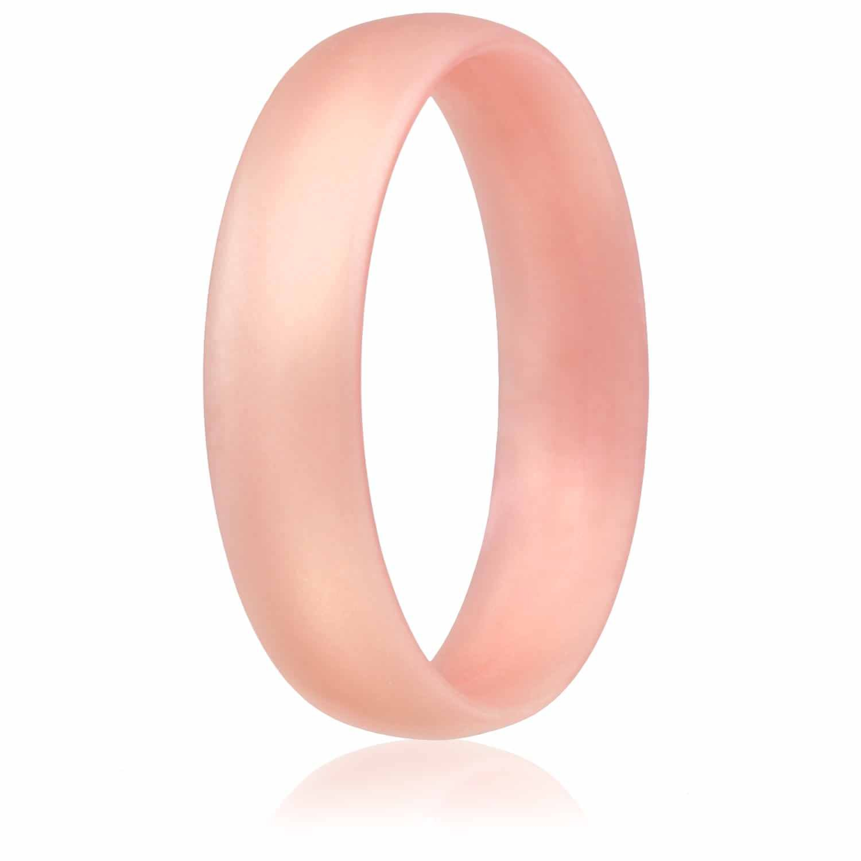 Luxury Silicone Wedding Ring Gold | Wedding