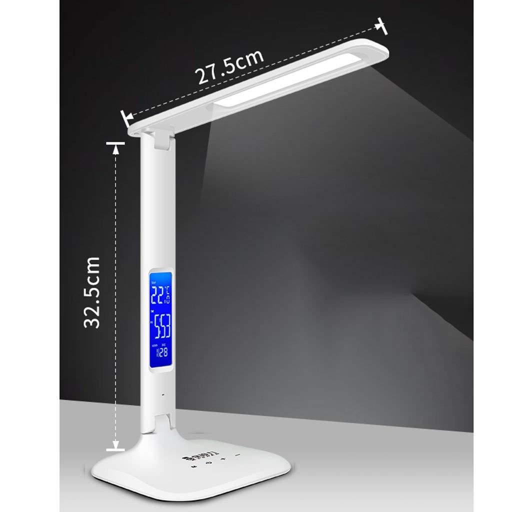 YUHUS Home Leselampen Wiederaufladbare LED-Leselampen USB-Dimmbare Leseleuchte mit Clip Nachttischlampen Tischlampen Flexible Leselampen im Bett 360 Grad faltbar B07Q72C9DZ | Wirtschaftlich und praktisch