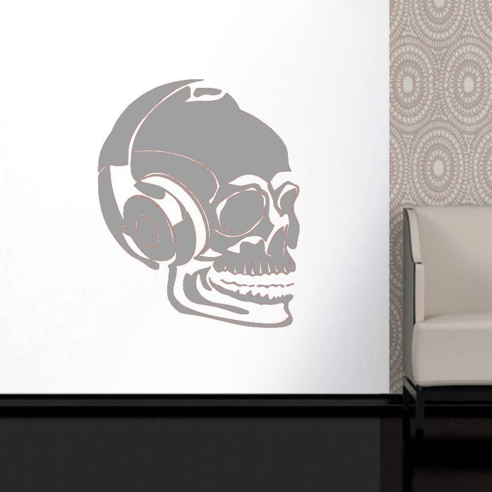 guijiumai Dctal Skull Music Halloween Headset Sticker Punk Death ...