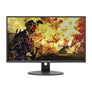 Sceptre 24 Inch FHD LED Gaming Monitor 75Hz 2x HDMI VGA Build-in Speakers, Metal Black 2018