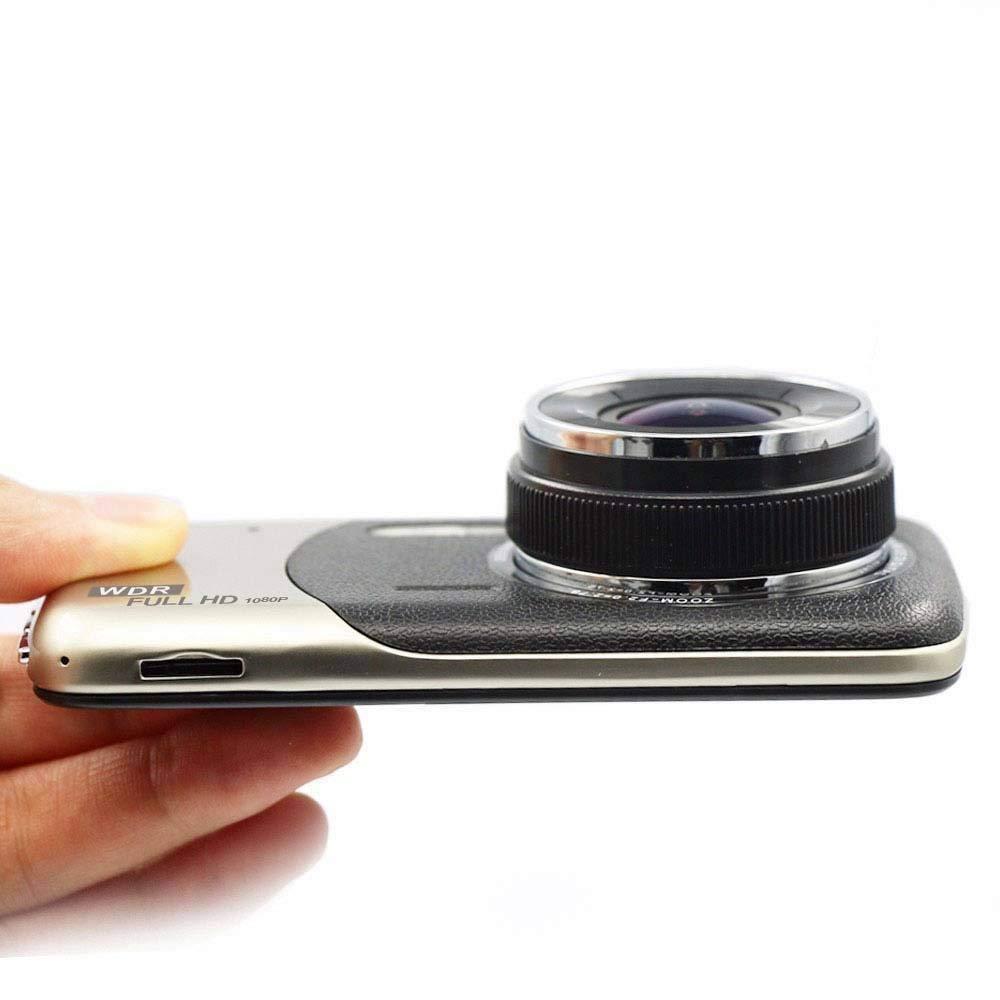 Dash Cam,UGI Dual Lens Camera HD 1080P Car DVR Vehicle Video Dash Cam Recorder G-Sensor with 4.0 LCD Screen 170/° Wide Angle,Night Vision,WDR,G-Sensor,Loop Recording