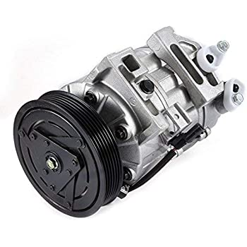New A/C Air Conditioning Compressor & Clutch for 99-05 VW Beetle Golf Jetta, 2000 2001 2002 2003 2004 2005 2006 Audi TT/TT Quattro