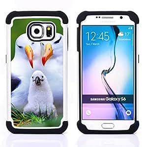King Case - seagull parents love child white birds - Cubierta de la caja protectora completa h???¡¯???€????€?????brido Body Armor Protecci?
