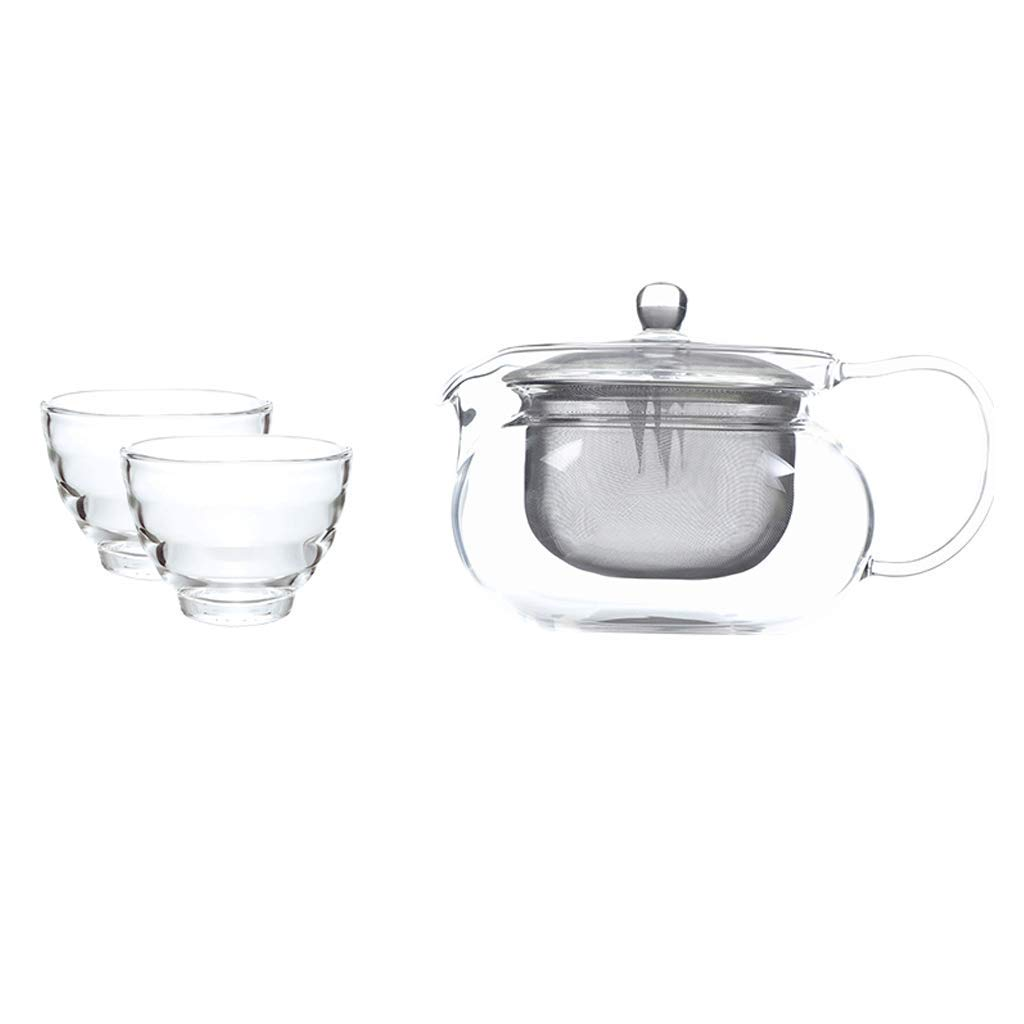 Kinue Exquisite Tea Cups Saucers Set Set Coffee Cup Teapot Set,Cold Kettle,Teacup,Creative, Mug, Constant Temperature, Contains No Harmful Substances Such As Lead and is Chemically Stable by Kinue (Image #1)