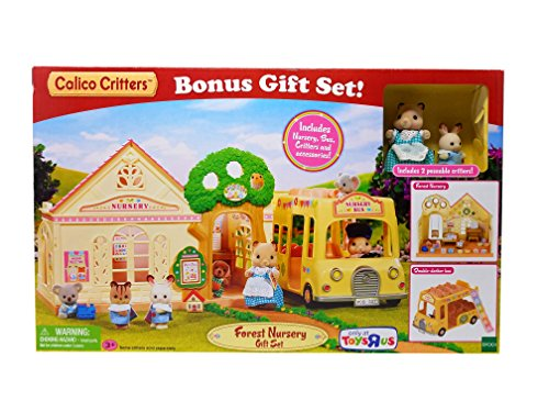 Calico Critters Forest Nursery Gift Set Playset (2017 version) Exclusive