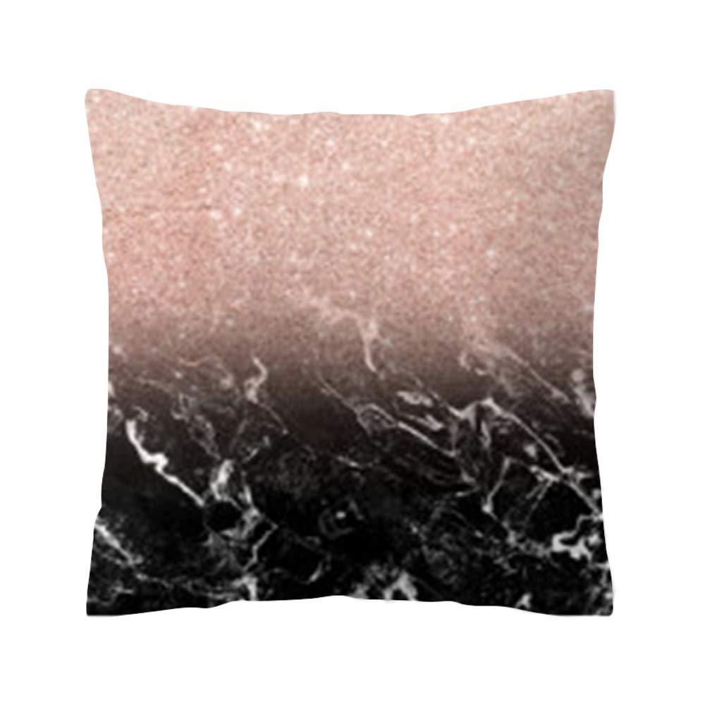 Weiliru Standard Silky Pillowcases, Soft and Removable,Hidden Zipper, Black, Creative Lips Pattern