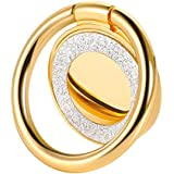 lenoup Glitter Bling Bling Phone Ring Holder,Sparkle Phone Ring Kickstand, Cell Phone Finger Ring Grip for Almost All…